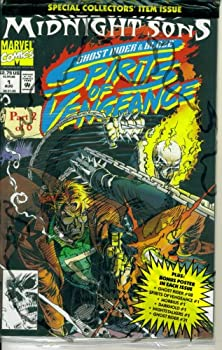 Comic Spirits of Vengeance #1 : Featuring Ghost Rider and Blaze (Midnight Sons - Marvel Comics) Book