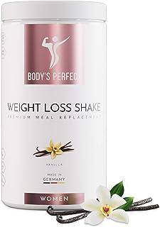 BODY'S PERFECT® Weight Loss Shake für Frauen, Diät Shake zur Gewichtskontrolle..