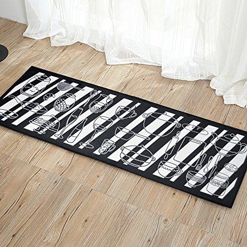 Y-Step Paillasson d'entrée Tapis Tapis de Sol en Caoutchouc antidérapant Intérieur/extérieur 16 x 47 inch