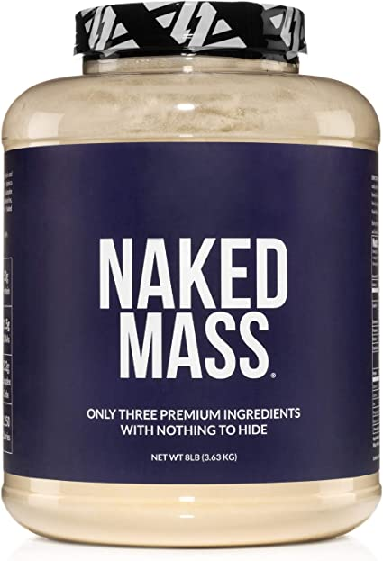 Naked Mass - Natural Weight Gainer Protein Powder