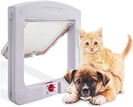 SEEKVER Puertas para Gatos, Puerta magnética para Mascotas
