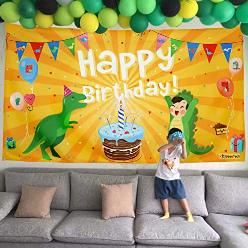 Beestech Dinosaur Themed Birthday Party Supplies Supply Favors For Boys Girls Toddlers Baby