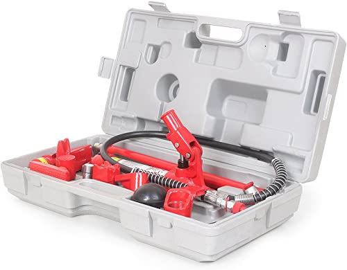 popular Mallofusa 4 Ton Porta outlet online sale Power Hydraulic 2021 Jack Repair Kit with Carry Case sale