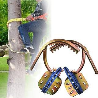 GBHJJ klättra träd artefakt, rostfritt stål klättring halkfri träfotleder, rostskydd, slitstark, tidiga pucklar, lätt att ...