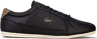 Lacoste Mens Evara 319 Trainers Sneakers in Black White.