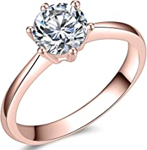 Best rose gold stainless steel ring Reviews