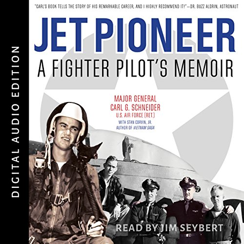 Jet Pioneer Audiobook By Carl Schneider, Stan Corvin Jr. cover art