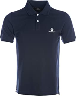Classic Short Sleeve Polo Shirt in Navy