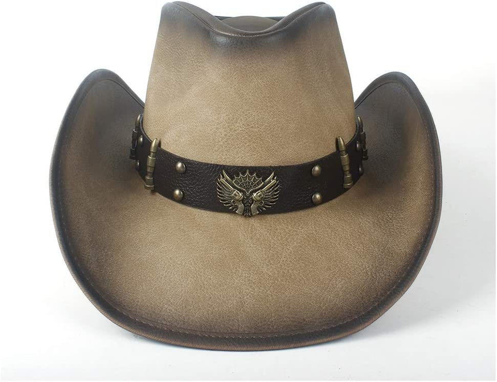 Genuine CHENJUNAMZ Women's Men's Leather Cowboy Up Super beauty product restock quality top! Cowgirl Western Roll