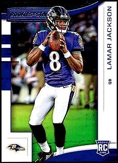 Football NFL 2018 Panini Rookies and Stars #112 Lamar Jackson #112 Rookie NM Near Mint RC Rookie Ravens