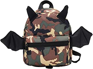 Toddler Backpack with Leash, Anti-Lost Children Backpack for 1-3 Years Kids(#5Khaki,4L)