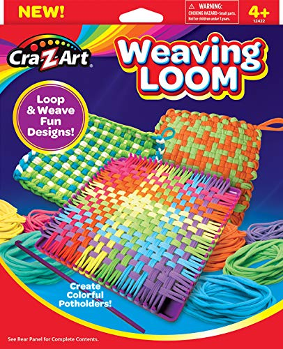 Includes Over 360 Craft Loops and 1 Weaving Loom Ultimate Weaving Loom by Horizon Group USA Multicolor