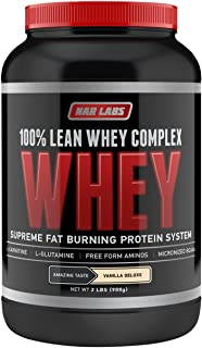 NAR LABS 100% Lean Whey Complex 2 pounds Vanilla Deluxe