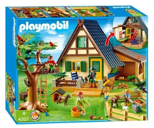 PLAYMOBIL® 4207 - Forsthaus mit Tierpflegestation