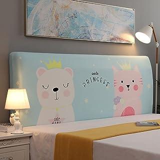 NHK-MX Funda de cabecero de Cama elástica Cubierta para Cabecero de Cama Respirable a Prueba de Polvo Protectora de cabecera de Cama 110-240cm (Color : 26, Size : 140-160cm)