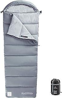 Naturehike Camping Sleeping Bag - 3 Season Warm & Cool Weather - Summer, Spring, Fall, Lightweight, Waterproof for Adults...