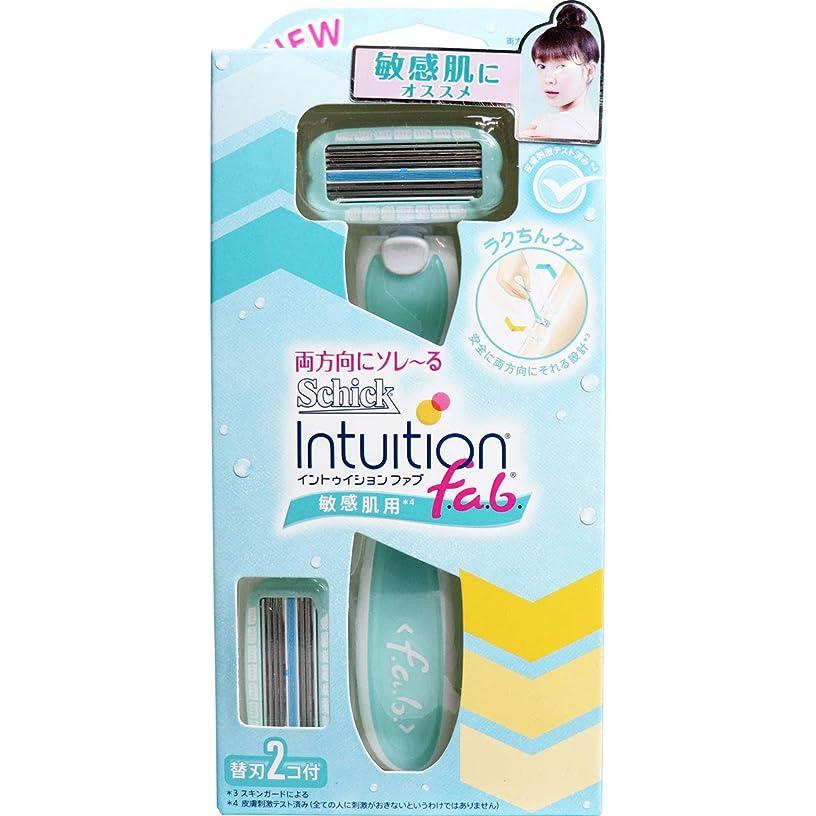 シック イントゥイション ファブ ホルダー 敏感肌用 替刃2個付×5個セット(管理番号 4903601688065)
