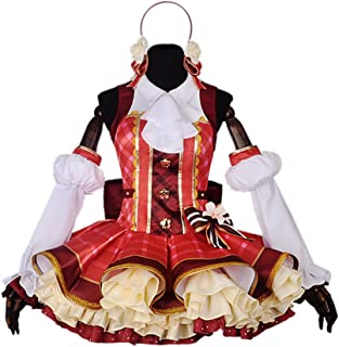 Girls Flower Bouquet Awaken Cosplay Costume Japanese Anime Lolita Dress