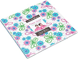 Flower Sacks Layer Cake, 42-10 inch Precut Fabric Quilt Squares by Me & My Sister Designs