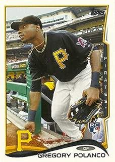 2014 Topps Update Variations #US-221b Gregory Polanco Black Jersey MLB Baseball Card (SP - Short Print) NM-MT