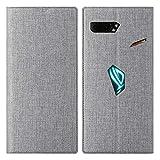 Eastcoo ASUS Rog Phone 2 Case, Magnetic Flip Folio Wallet