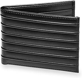 Levenger Bond Street Modern and Sleek Leather Wallet - Passport Wallet, Black (AL15130 BK)
