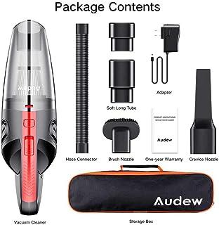 AUDEW 120W 4000pa Aspirateur À Domicile Maison Filtre HEPA Filtre Mini Portable USB..