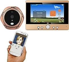 ZY 720P WiFi Inalámbrico Digital Peephole Door Viewer 5