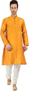 Men's Tunic Kurta Pyjama Set Party Wear Ethnic Dress