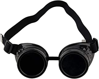 Queenbox Vintage Steampunk Goggles Glasses Welding Cyber Punk Gothic