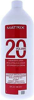 Matrix 20 Volume Cream Developer 32 oz