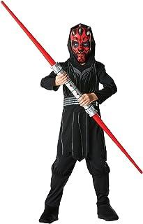 Rubie's Officiële Disney Star Wars Darth Maul, kinderkostuum - grote leeftijden 7-8