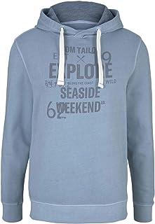 TOM TAILOR Men's Hoodie Sweatshirt