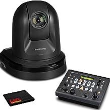 Panasonic AW-HE40HK PTZ Camera with HDMI Output (Black) with Panasonic Remote Camera Controller