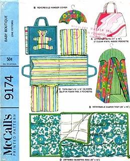 diaper hanger sewing pattern