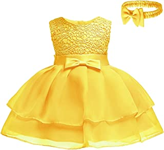 yellow dress baby