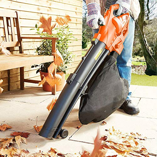BARGAINSGALORE HEAVY DUTY 3200W ELECTRIC GARDEN LEAF GRASS HEDGE BLOWER HOOVER VACUUM VAC NEW