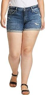Silver Jeans Co. Women's Plus Size Suki Short