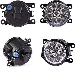 Good Quality 12V Drl Lamp 6000K Led Fog Lights For Renault Duster Fluence Kangoo Scenic Sandero