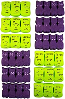 Halloween Peeps Variety Pack with Monsters and Spooky Cats, 3.375 oz, Pack of 4
