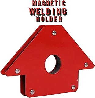 Katzco Magnetic Welding Holder - Arrow Shape for Multiple Angles - Holds up to 75 Pounds for Soldering, Assembly, Welding, and Pipes Installation