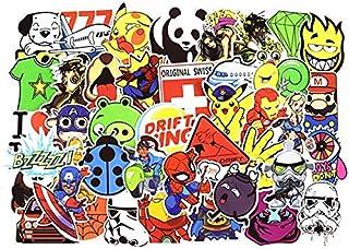 100 Pieces Set Sticker Cartoon Anime Waterproof PVC Stickers for Laptop,Car,Phone,Luggage Bike Stylin