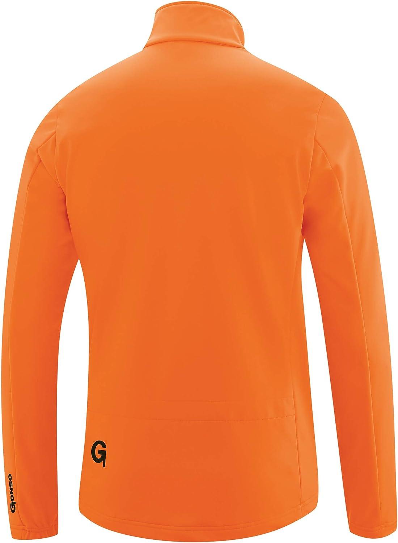 Gonso Ternes Softshell Jacke Herren red orange 2020 wasserdichte Jacke
