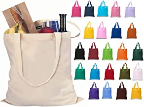 Best colored canvas tote Reviews