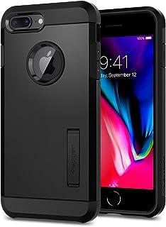 Spigen [Tough Armor 2] iPhone 8 Plus Case/iPhone 7 Plus Case with Kickstand Air Cushion Technology for Apple iPhone 8 Plus (2017) / iPhone 7 Plus (2016) - Black