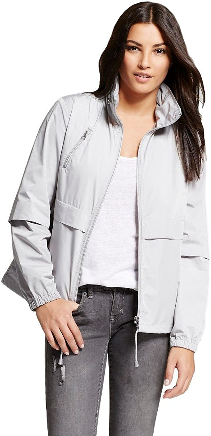 Bagatelle City Women's Packable Nylon Windbreaker Jacket with Hood