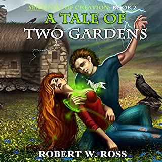 A Tale of Two Gardens audiobook cover art