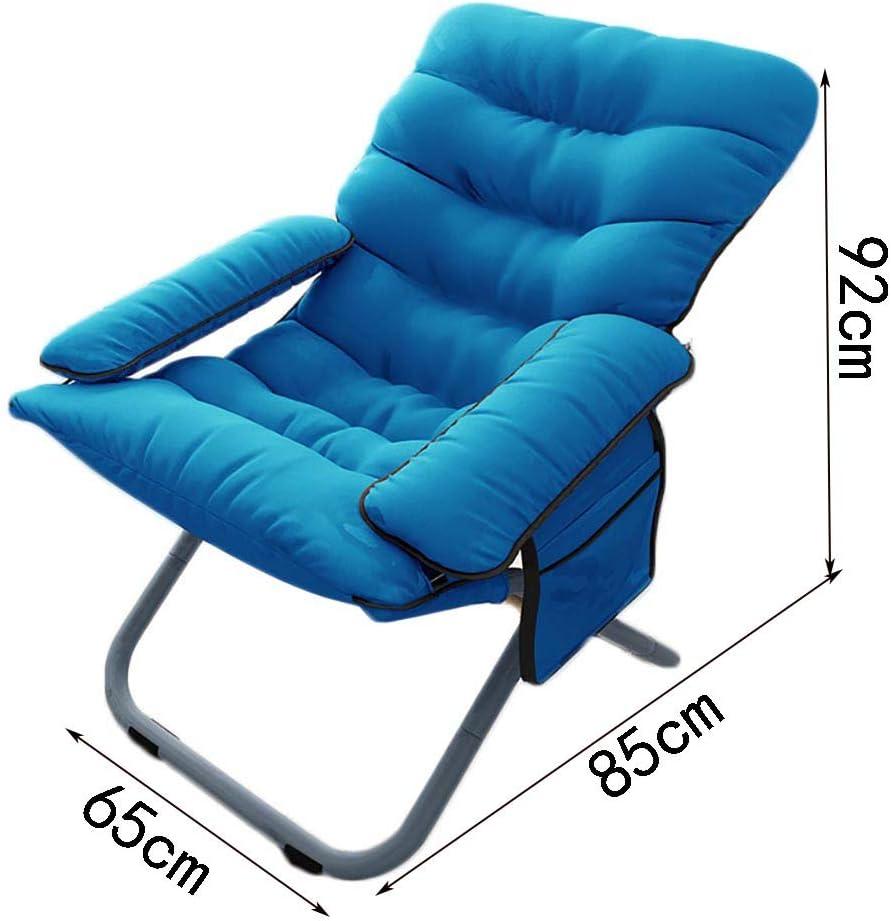 Chaise Chaise pliante Tatami Fauteuil Lavable Ordinateur Salon Dortoir Chaise longue (Couleur : E) A