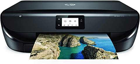 HP Envy 5030 – Impresora Multifunción Inalámbrica (Tinta, Wi-Fi, Copiar, Escanear, 1200 x 1200 PPP, Modo Silencioso, Incluye 1 año de Instant Ink con el plan de 50 páginas/mes) Color Negro