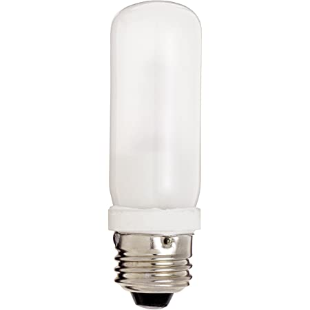 Satco S11381 4.3 Watt T10 LED; Clear; Medium Base; 3000K; 350 Lumens; 120 Volt 24-Pack California Compliant